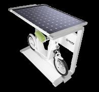 recarga solar para bicicletas electricas