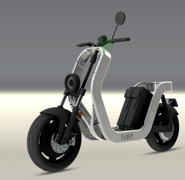 Me Una Scooter El 233 Ctricamis Motos Electricas